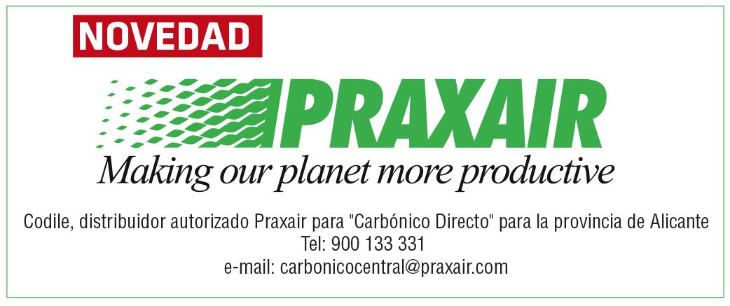 Codile y Praxair te traen el Carbónico para tú negocio